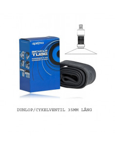 SLANG 16 47/57305/349 CV, DUNLOP/CYKELVENTIL 16X17516X22