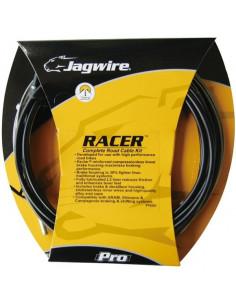 Växel/broms sats, SRAM/Shimano Racer, komplett svart