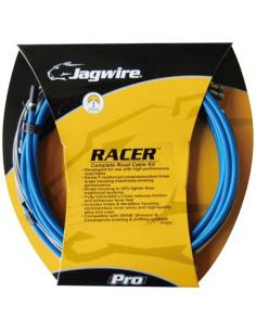 Växel/broms sats, SRAM/Shimano Racer, komplett SID blå