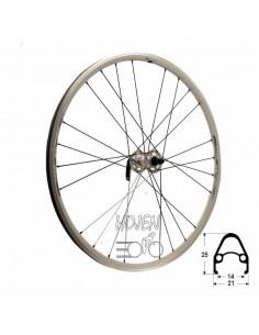 Hjul fram 622-15 fluenta lite, TEC 24h slutet lager vikt: 905 g vit