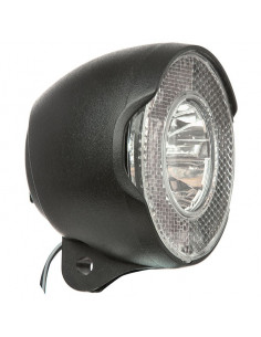 Framlykta led on/off, svart