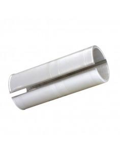 Sadelstolpsshims 27.2mm/29.6mm, Silver för sadelstolpe 27.2 till 29.6 sadelstolp