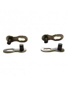 Kedjelås KMC Missing Link Pinnlängd 5,88 mm, förp/2st silver 10-vxl