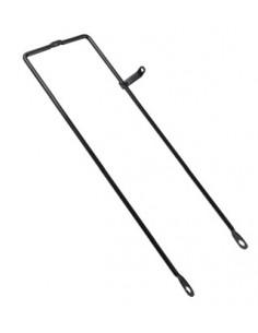 Korgstag med fäste för framlampan, Reservdel, 48-712 svart 41 cm