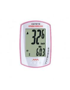 Dator Cateye CCRD300W Strada, trådlös vit/rosa