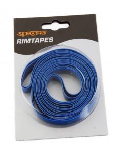 Fälgband 26 hpm 16/1610mm 2st, Spectra pvc Fälgband i blisterförpackning blå