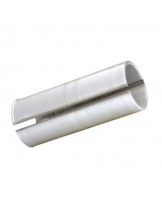 Sadelstolpsshims 27.2mm/30.8mm, Silver för sadelstolpe 27.2 till 30.8 sadelstolp