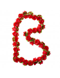 Basil Decoration Flower, Garland Red