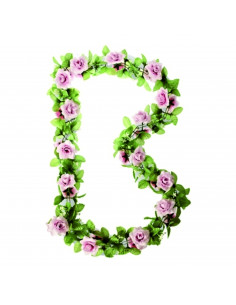 Basil Decoration Flower, Garland Pink