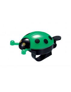 Ringklocka Bike Attitude, Grön Nyckelpiga