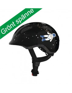 ABUS HJÄLM SMILEY 2.0 BLACK SPACE M GRÖNT SP.