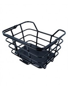 EPIC basket model M, matt black with AVS , SVART, one size