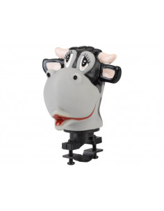 XLC Horn HO-T01Kids horn Cow, For handle bar mounting
